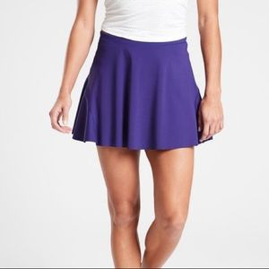 NWT Athleta Purple Match Point Skort